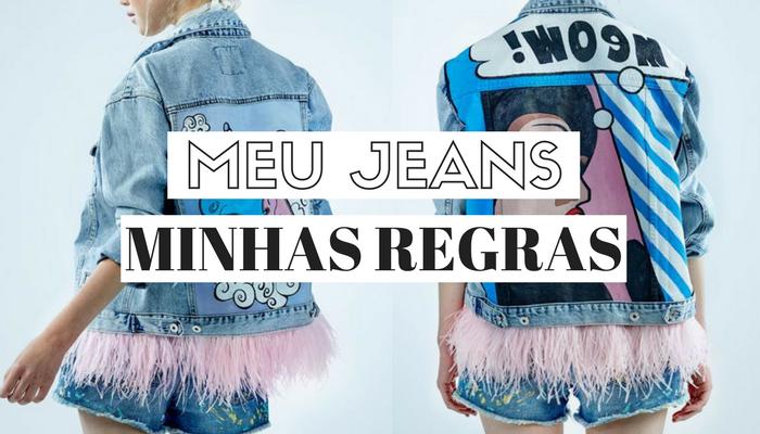 Jeans as melhores ideias para dar uma repaginada