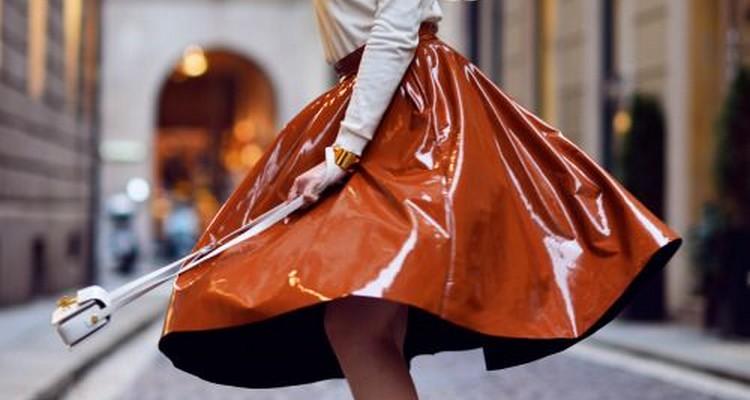 Como usar saia de plastico / clear vynil skirt