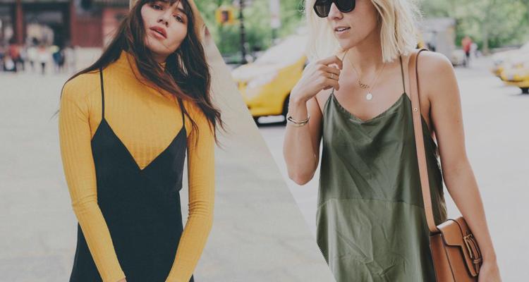 Como usar slip-dress – um pijama para sair!