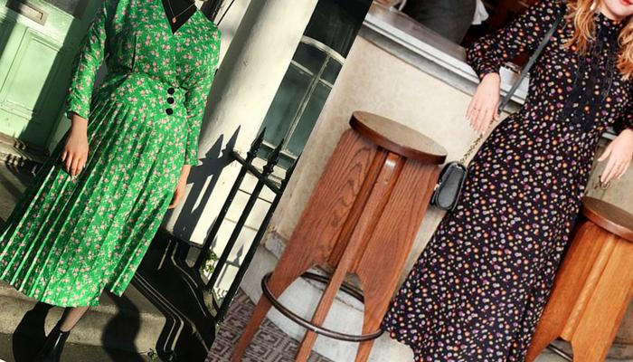 Floral dress – Vestida para hora do chá