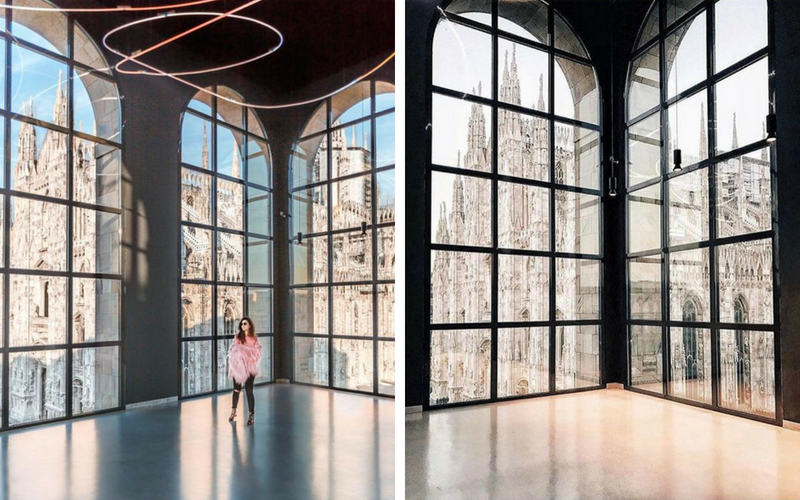 BEST VIEW OF MILAN VISTAS DE MILÃO MUSEO DEL NOVECENTO
