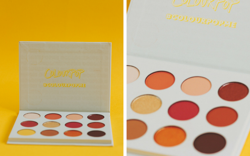 COLOURPOP YES, PLEASE! BEAUTY review resenha EYESHADOW PALETTE EYESHADOWS