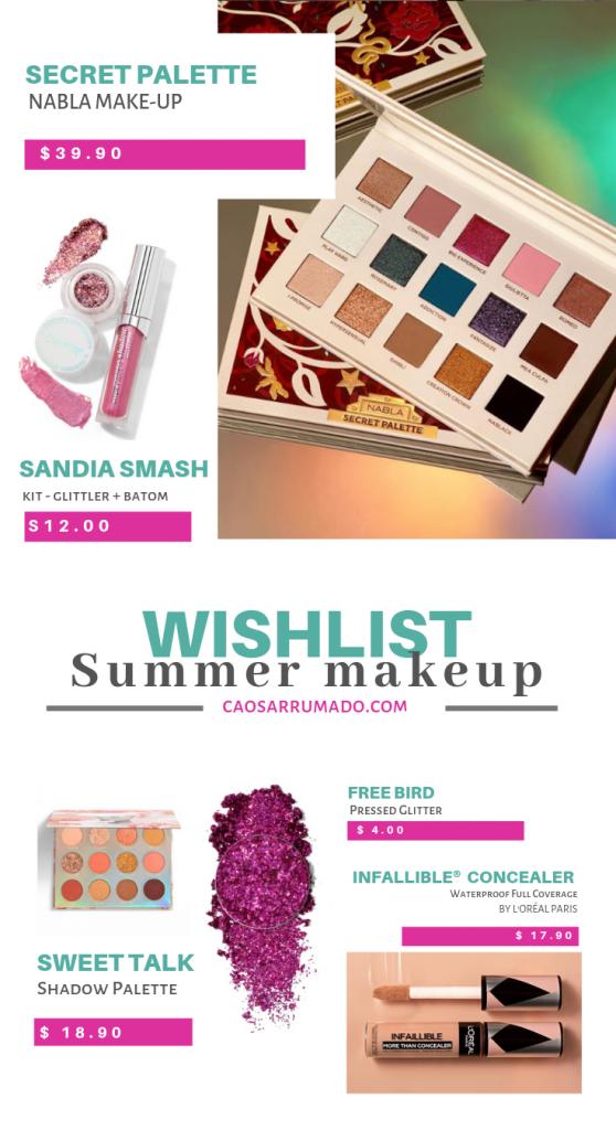Wishlist - Summer Makeup