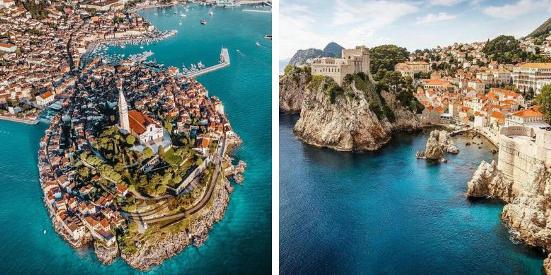 Passeios de um dia para fazer de Barco na Itália gastando pouco - Croácia | Rovinj - Ilhas Toscana | Isola del Giglio - Grécia | Corfu
