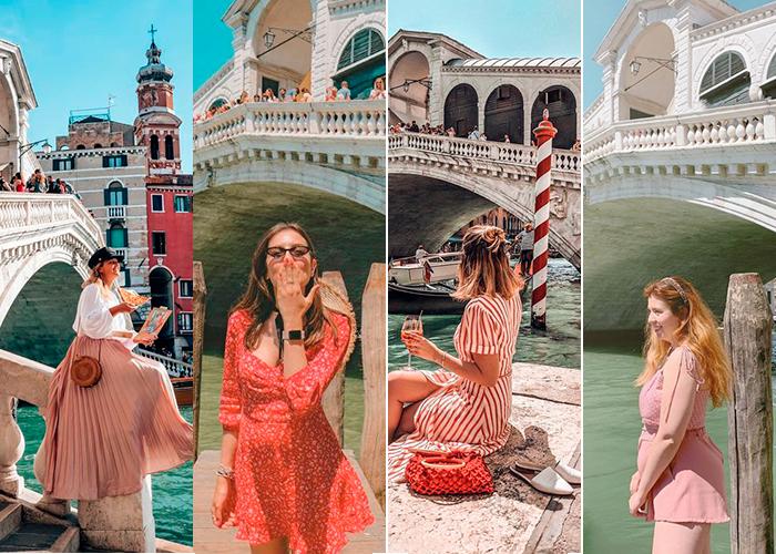 Guia Fotografico em Veneza | Pontos Instagramaveis | Ponte di Rialto